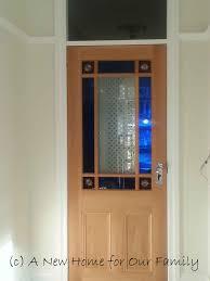 vestibule door hung our new home