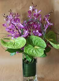 Orchid Delivery Modern Flower Arrangements Exotic Flower Arrangements Thank You