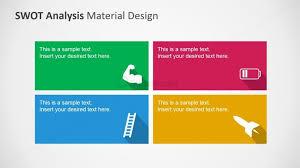 swot analysis powerpoint template clipart metaphors slidemodel