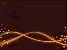golden lines with stars powerpoint templates abstract black