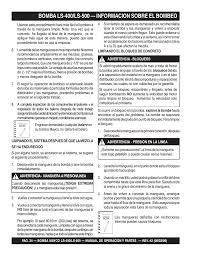 multiquip ls 500 manual del usuario página 34 148 también