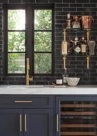 Best  Black Backsplash Ideas On Pinterest Teal Kitchen Tile - Black backsplash