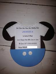 Free Mickey Mouse Baby Shower Invitation Templates - mickey mouse baby shower invitations printable mickey mouse baby