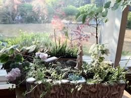 Mini Garden Flags Little Altars Everywhere Miniature Prayer Gardens The Mini