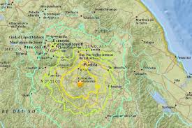 Mexico City On Map by Update Earthquake Kills More Than 200 People As Buildings