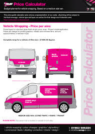pink volkswagen van inside vehicle wrapping prices vehicle wrap price guide sign writing