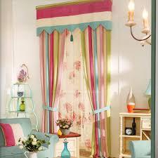 modele rideau chambre cuisine fantaisie ã lã gant chenille ã multi couleur chambre ã