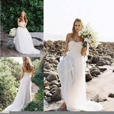beach style wedding gowns u2013 look for the right wedding dress