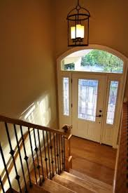beautiful new stairway and entry traditional entry portland