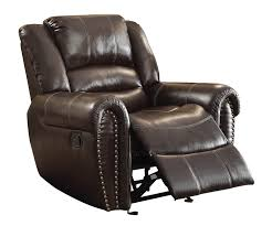 Brown Leather Recliner Perfect Brown Leather Recliner Chair In Home Decorating Ideas With