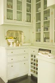 kitchen cabinet wine glass rack kitchen transitional with white