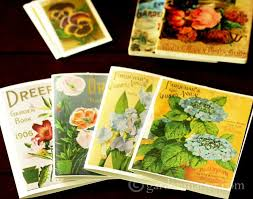 vintage seed packets vintage seed packet prints and ways to craft with them