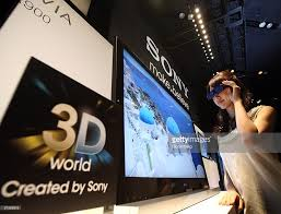 New 3d Tv Sony Lunches New 3d Tv In Tokyo Photos And Images Getty Images