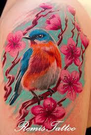 Flower And Bird Tattoo - 174 best tattoo birds flowers u0026 butterflies images on pinterest