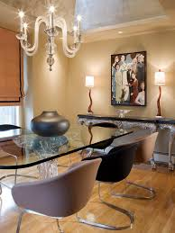 dining room modern designs tables ideas glass table fur rug