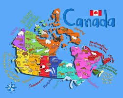 Canada Provinces Map Map Of Canada You Can See A Map Of Many Places On The List On