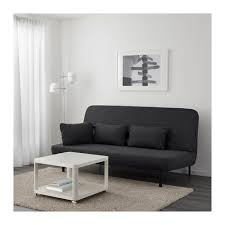 ikea coussin canapé nyhamn canapé lit trois coussins avec matelas en mousse skiftebo