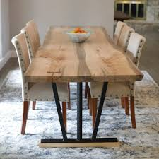 Living Edge Dining Table Live Edge Furniture Horizon Home Furniture Huge Warehouse