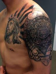 aztec tattoos for ideas and designs for guys