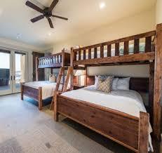 Custom Bunk Beds Queen Over Queen Twin Over Queen - Queen bed with bunk over