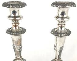 antique candlesticks etsy
