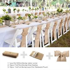 wedding chair sashes wedding ideas rustic wedding decoration burlap chair sashes jute