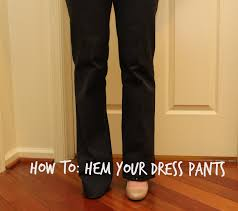 Blind Stitch Hem By Hand From Woo To You Diy How To Hem Your Dress Pants With Blind