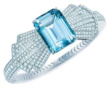 tiffany ring bracelet images Blue book collection aquamarine bow bracelet tiffany co the jpg