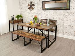 dining table and bench set dining table with bench and chairs dining room the lovely oak bench