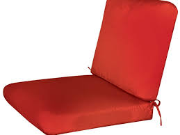 Replacement Cushions Patio Furniture by Patio 23 Red Sunbrella Replacement Cushions For Wicker Patio