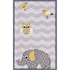 Nursery Area Rugs Rug Market Elephant And Bird Nursery Area Rug A Quality Toy From