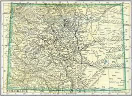 Map Of Colorado State by Colorado Genealogy U2013 Access Genealogy