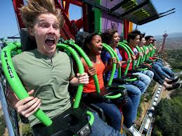 X Flight At Six Flags 101 Amazing Thrills Pictures Travelchannel Com Valencia And