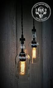Whiskey Bottle Chandelier Balvenie Whiskey Bottle Pendant Light Black Series Id Lights
