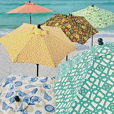 Replacement Patio Umbrella Outdoor Specialty Printed Umbrellas And Replacement Canopies