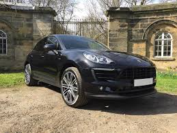 macan porsche price used 2017 porsche macan d s pdk for sale in west yorkshire