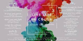 Colors Of Spring 2017 Ru Kappa Phi Lambda