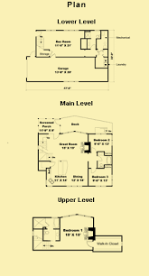 small 3 story house plans vacation cottage plans with 3 bedrooms for a narrow lot