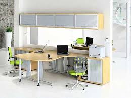 Minimalist Office Desk Office 11 Floating Brown Wooden Long Desk Combined With Floating