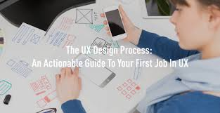 ux design process an actionable guide to your first job in ux