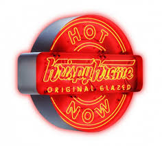 krispy kreme light hours krispy kreme to give away free doughnuts for a year miami s