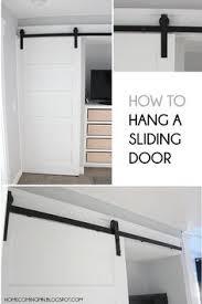 How To Install Barn Door Hardware Sliding Barn Door Install It Design Love Pinterest