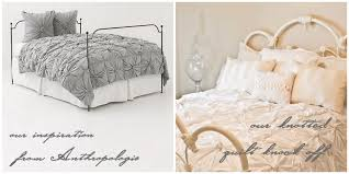 inspired bedding anthropologie inspired knotted bedding part 2 putting it all