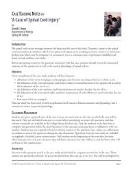 Human Anatomy And Physiology Notes Spinal Cord Notes Docshare Tips