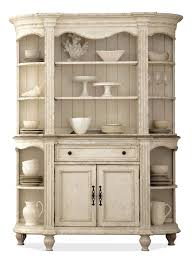 Dining Room Buffets And Servers by Picture Of Riverside Furniture Server W Hutch In Weathered
