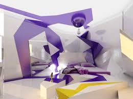 Yellow And Purple Bedroom Ideas Bedroom Entrancing Image Of Futuristic Bedrooms Decoration Using