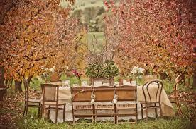 la la linen thanksgiving table settings 2011