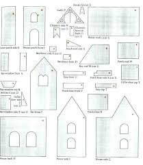 pattern for large gingerbread house gingerbread house patterns printable mini gingerbread house template