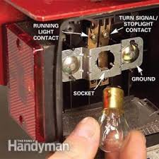 utility trailer light bulbs fix bad boat and utility trailer wiring family handyman