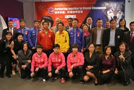 Us Table Tennis Team Chinese National Team Delegation Arrived On 9 24 2014 Triangle